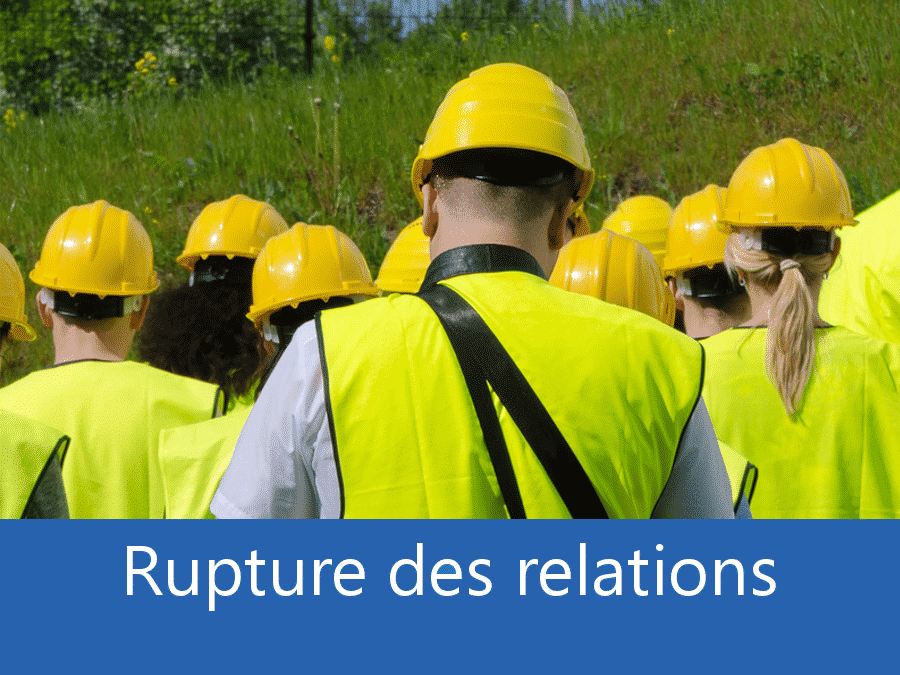 rupture des relation chantier 78, problème durant le chantier Versailles, stress chantier Versailles, problème durant le chantier Yvelines,