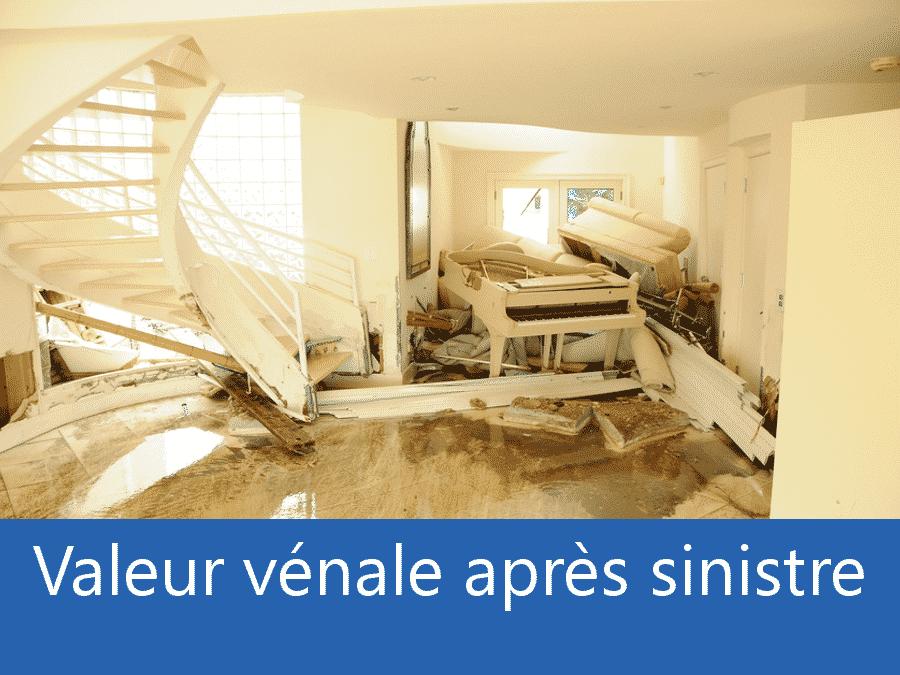 valeur vénale après sinistre Versailles, valeur dégâts après sinistre 78, avis valeur sinistre Yvelines,