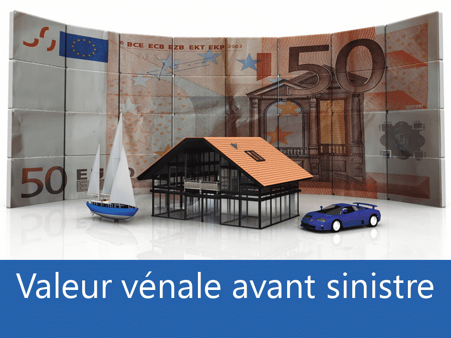 Valeur vénal avant sinistre 78, valeur des biens assurance 78, expert valeur vénale Versailles,